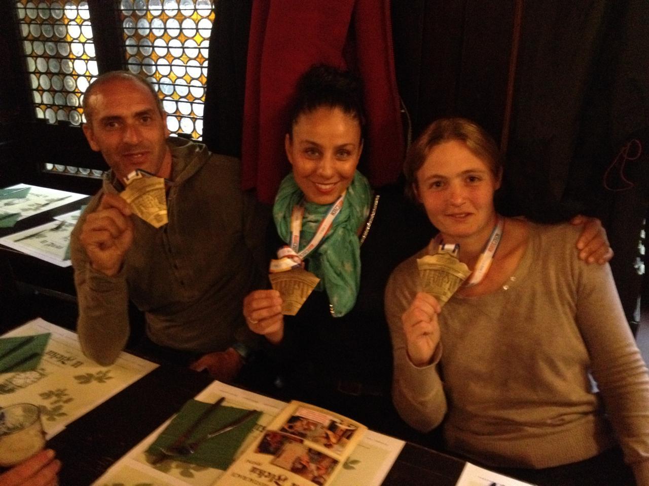 Félicitations aux nouveaux Marathoniens