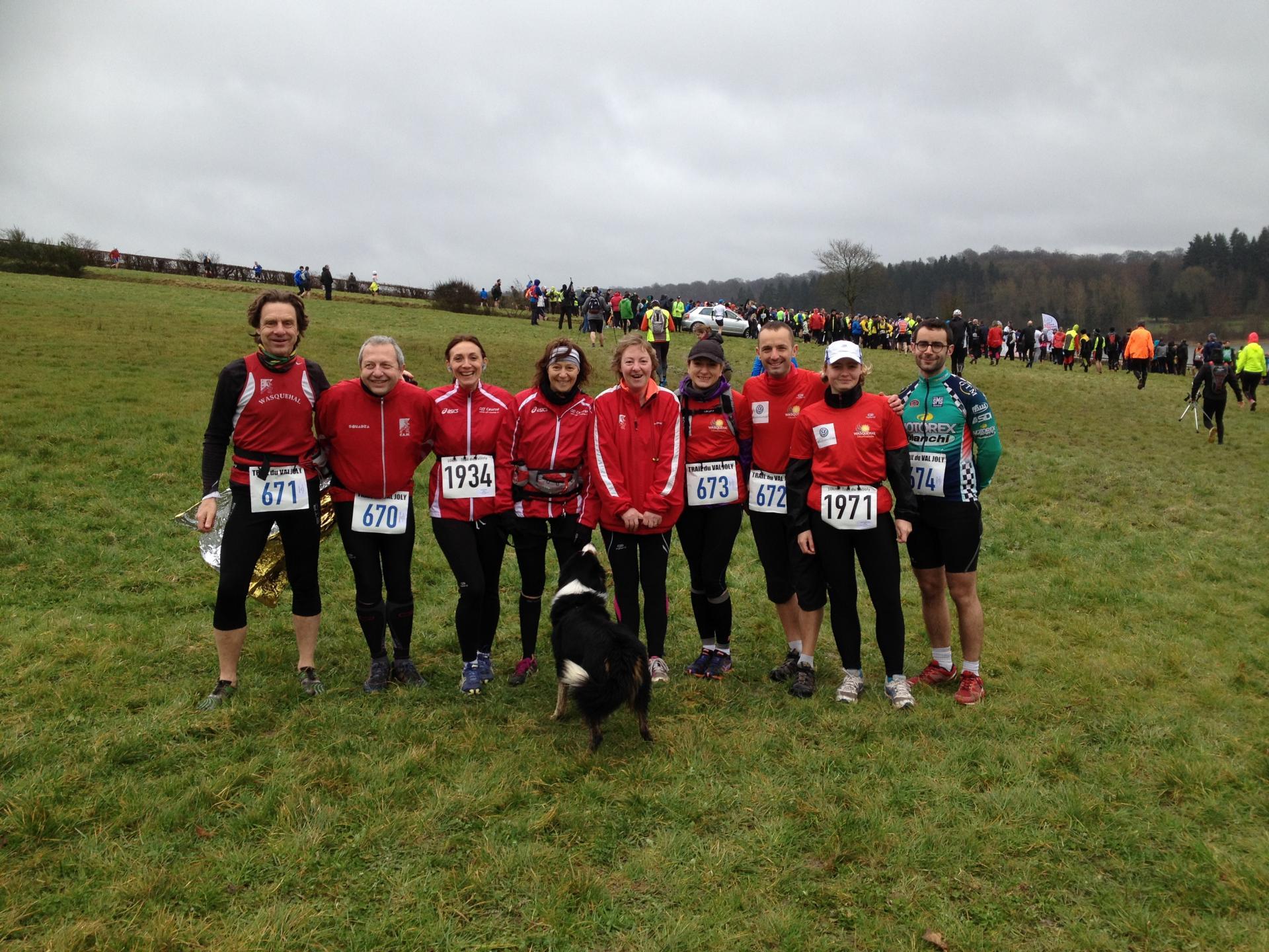 Les Participants du 10 et 18 km