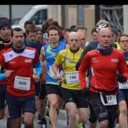 En plein semi-marathon. La course est lancée !