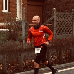 En plein semi-marathon