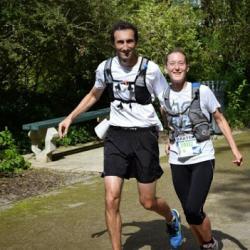 Florence et Mickaël 24 km  391 m de dénivelé