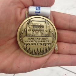 Une Médaille bien méritée!